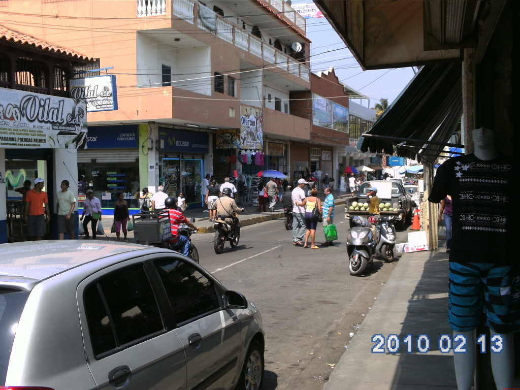 Puerto Piritu downtown