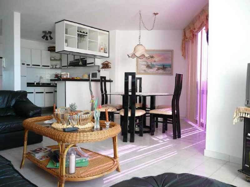 condo salle a manger and kitchen